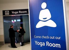 san francisco airport yoga room airport amenities
